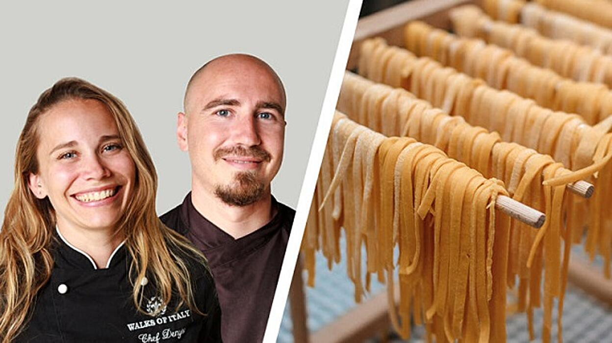 Pasta Making Class with Italian Chefs, Denyse & Roberto